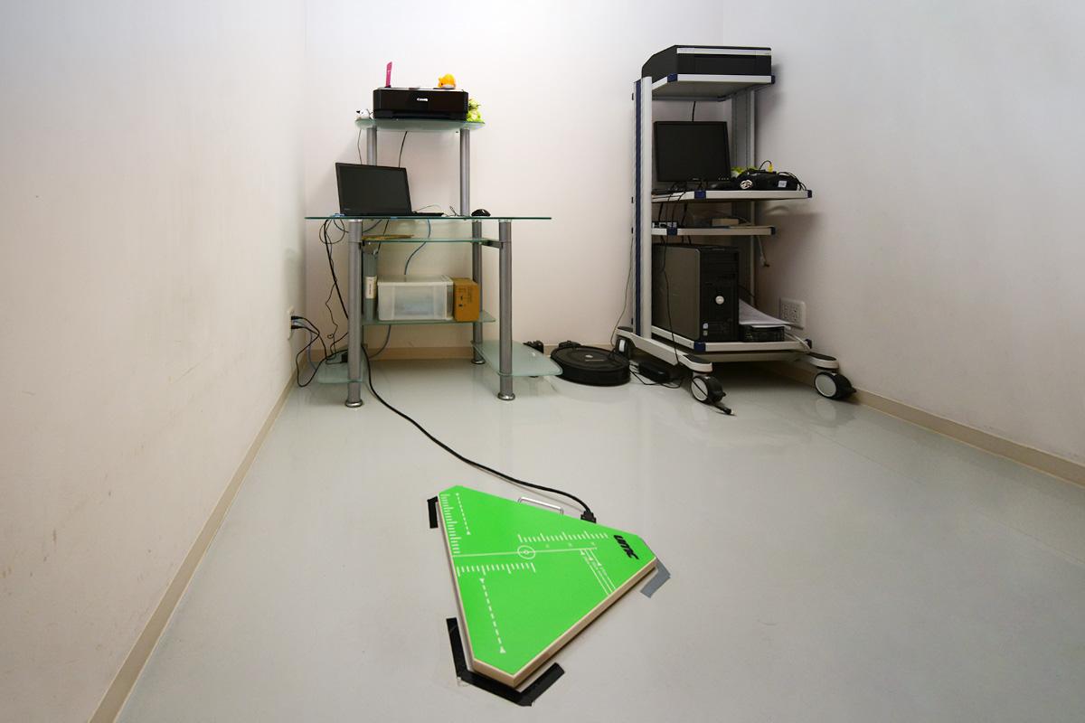 平衡機能検査室の写真
